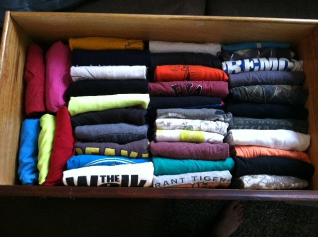 Proper Folding Of Your Clothes