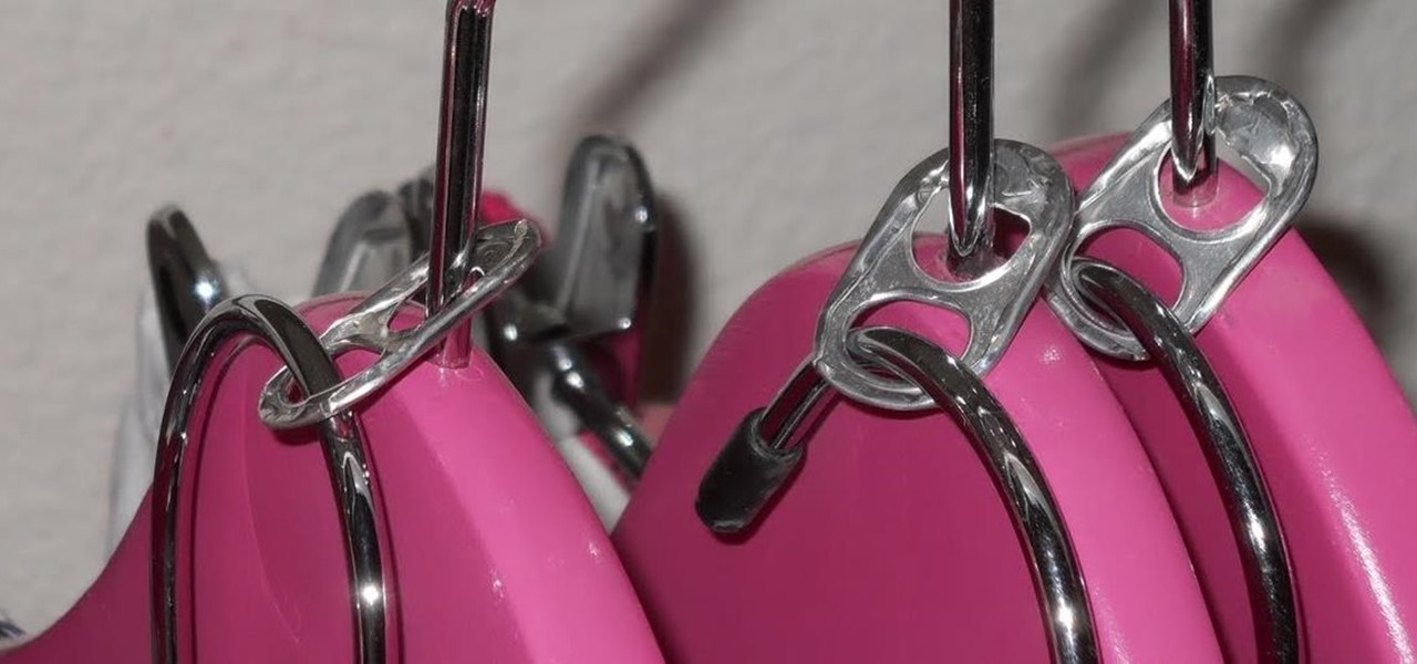 Double Your Hangers With Soda Tabs