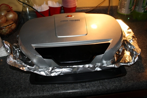 Keep Your George Foreman Grill Clean