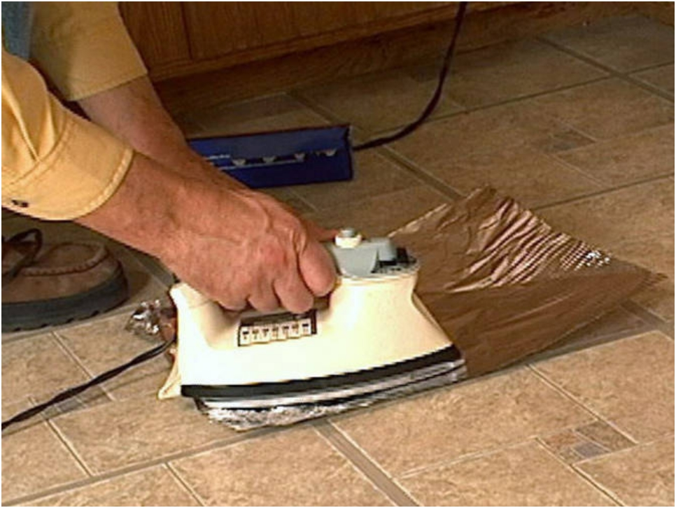 Get A Clean Iron Press With Tin Foil