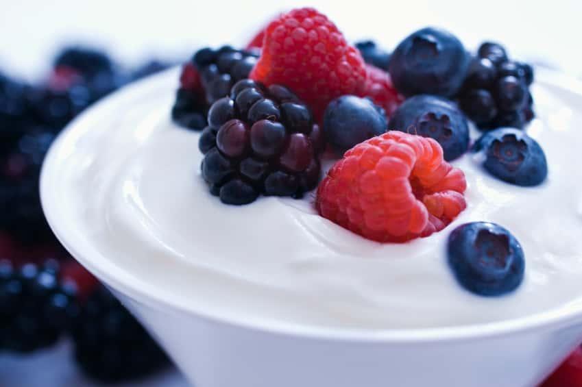 Simple Fruit And Yogurt