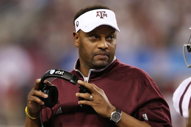NCAA Football: Cotton Bowl Texas A&M Vs Oklahoma