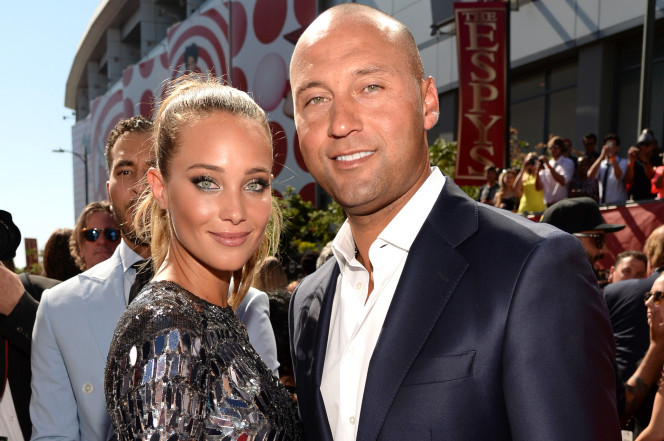 Derek Jeter And Hannah Davis
