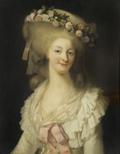 Louise Marie Thérèse De Saint Maurice Comtesse De Vercellis