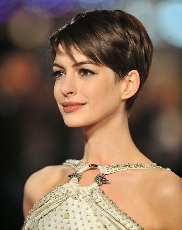 Short Cropped Hairstyle