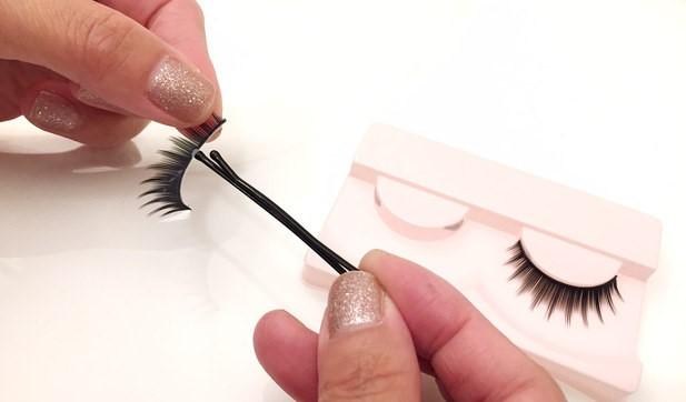 Bobby Pin Eyelash Glue