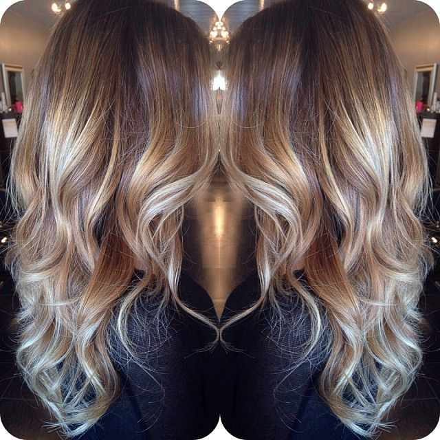 Brown Blonde Layered Hairstyle