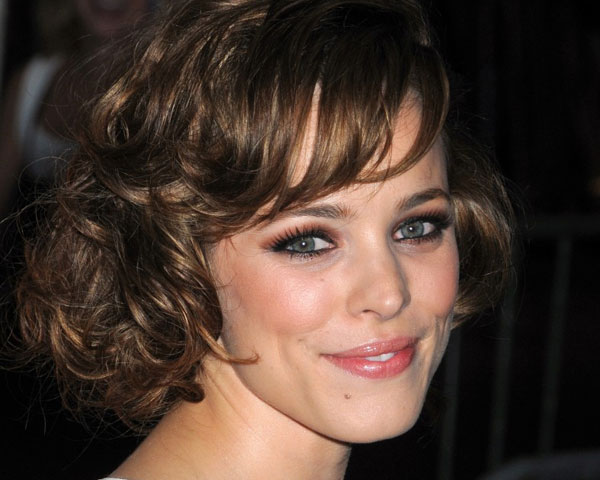 Playful Curls With Short Fringe