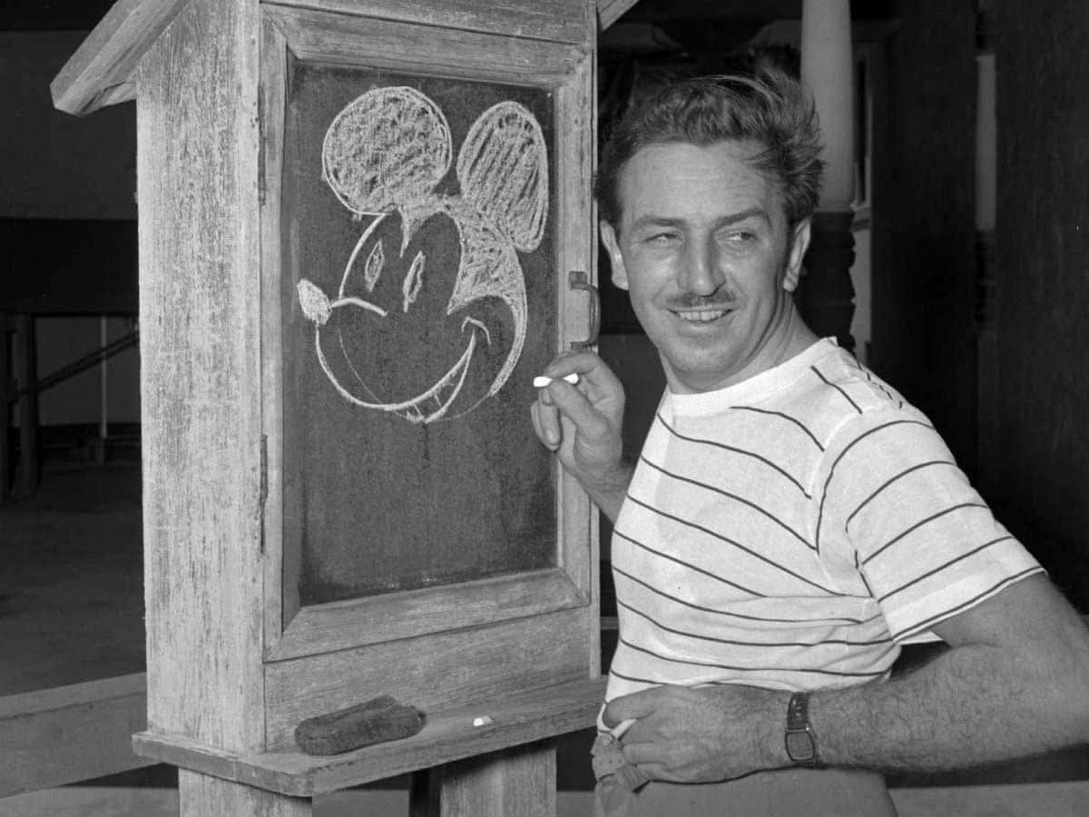 Drawing Mickey