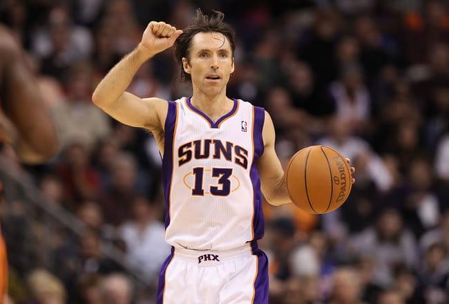 Steve Nash Phoenix Suns