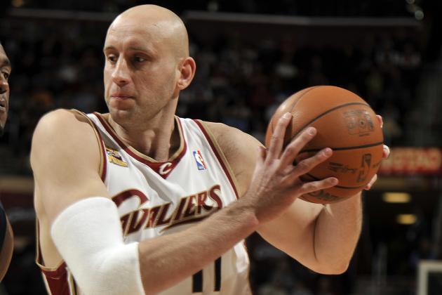 Zydrunas Ilgauskas Cleveland Cavaliers
