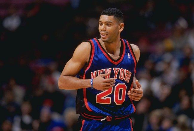 Allan Houston New York Knicks