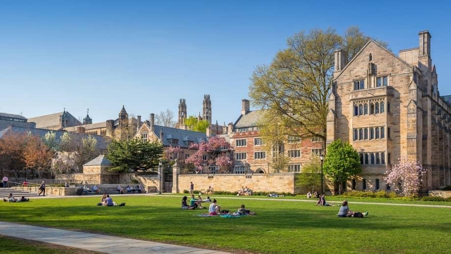 Yale University 69.79%