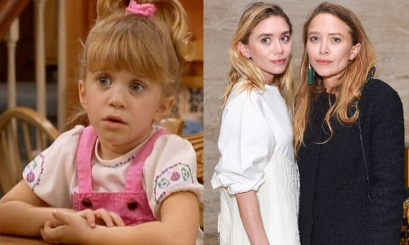 Mary Kate And Ashley Olsen As Michelle Tanner