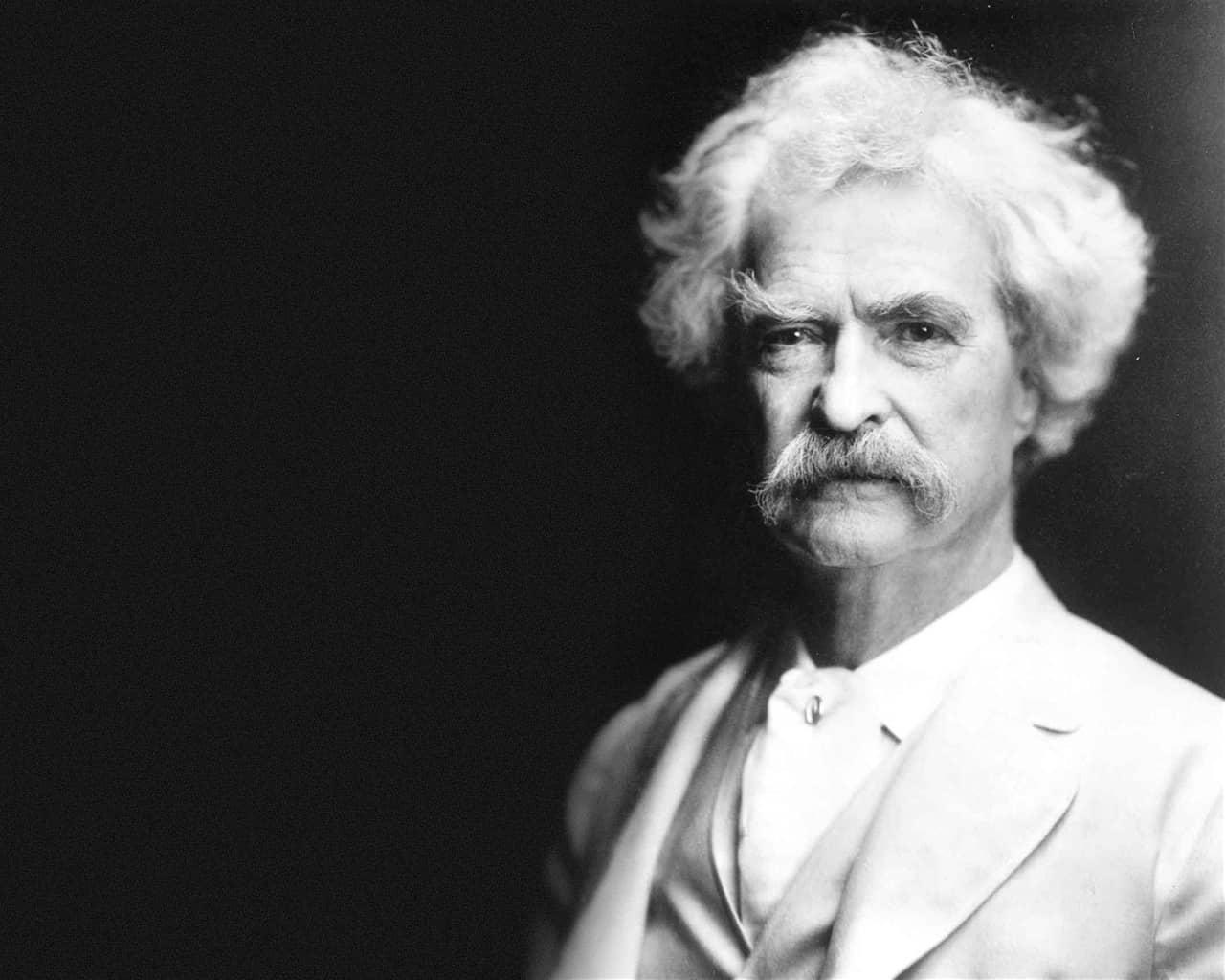 Mark Twain Is From Virginia City NV.