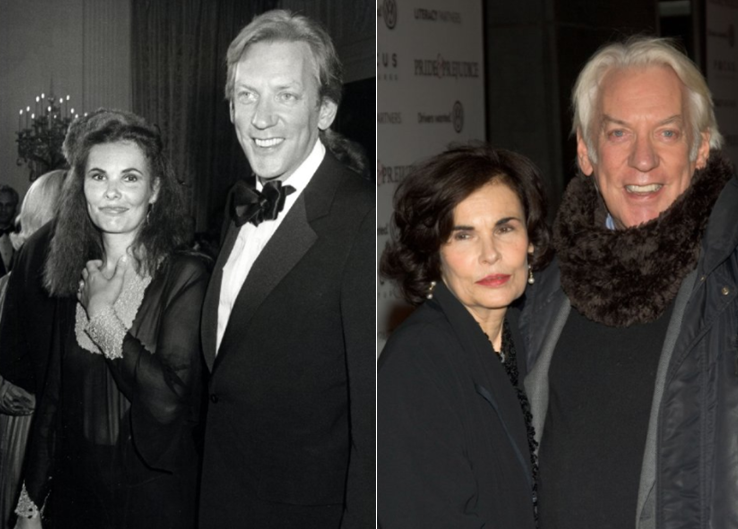 Donald Sutherland And Francine Racette