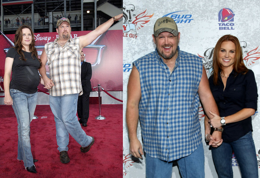 Larry The Cable Guy And Cara Whitney
