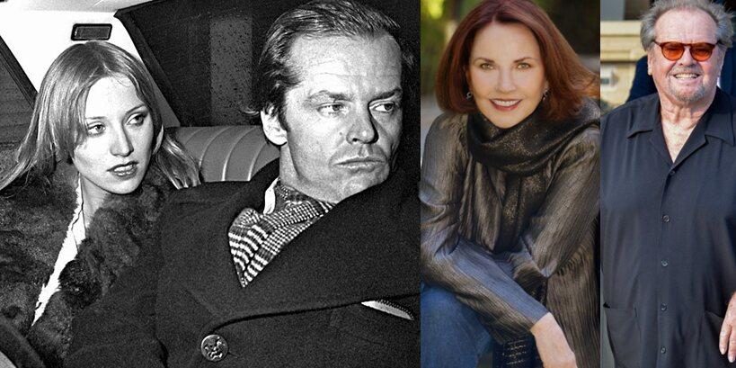 Jack Nicholson And Sandra Knight