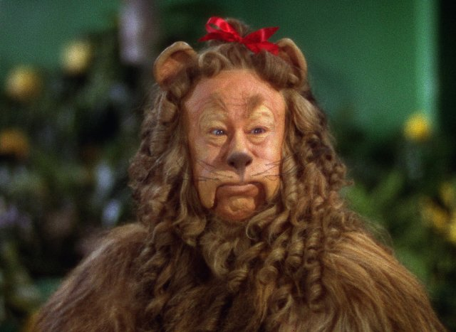 The Cowardly Lion Was Pretty Authentic