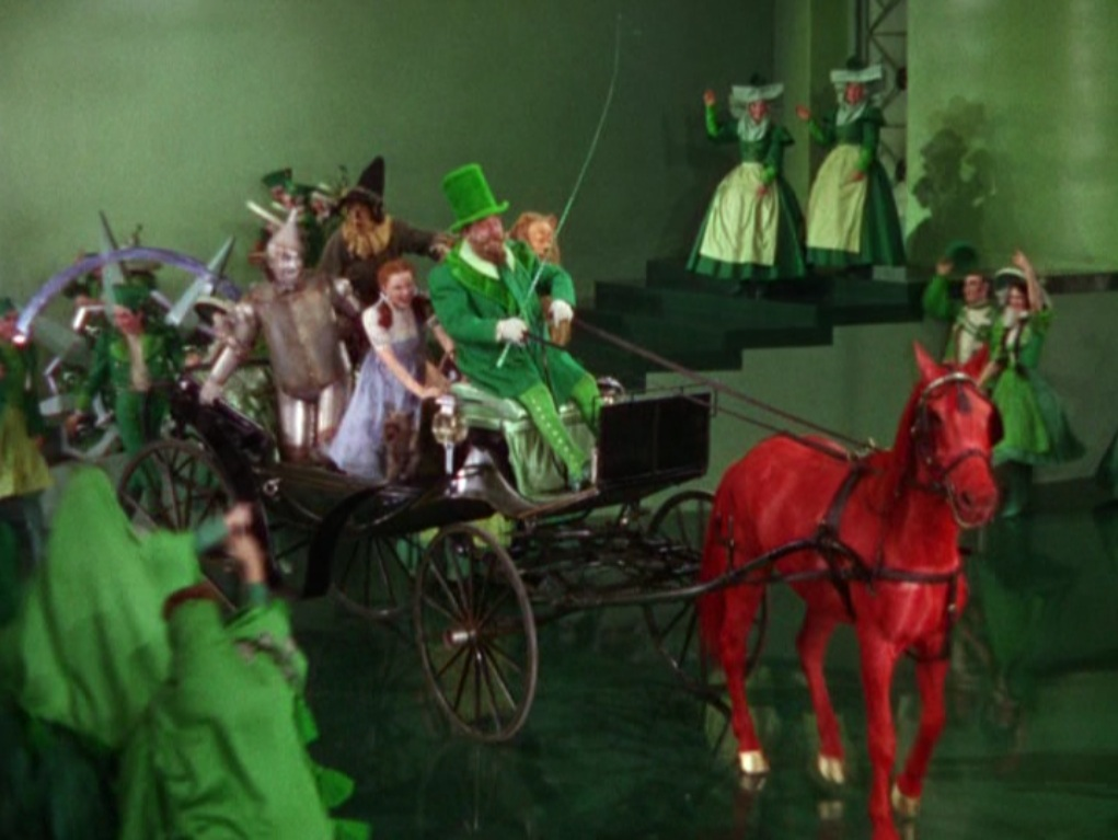 The Horses In Emerald City Needed A Special Material For Their Color