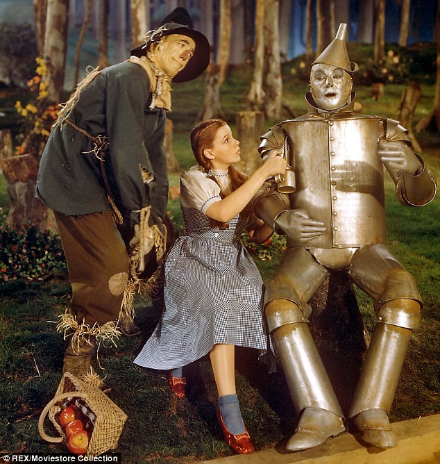 The Tin Man Cried A Hilarious Material