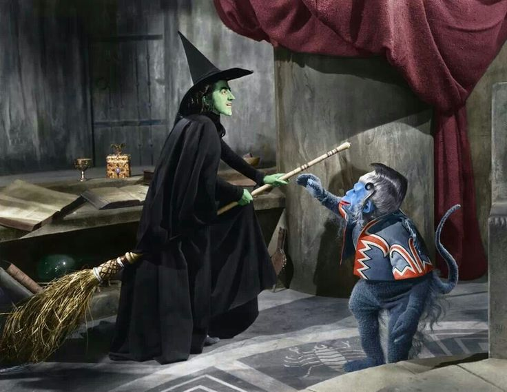 The Flying Monkeys Were Almost Cartoons