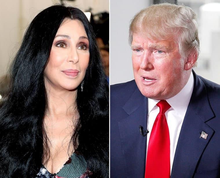 Cher VS Donald Trump