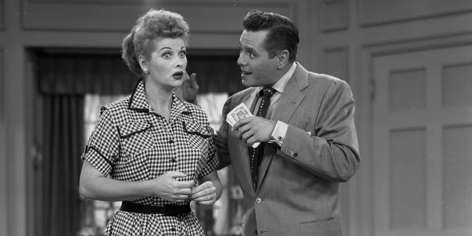 Lucille Ball And Desi Arnaz In 'I Love Lucy'