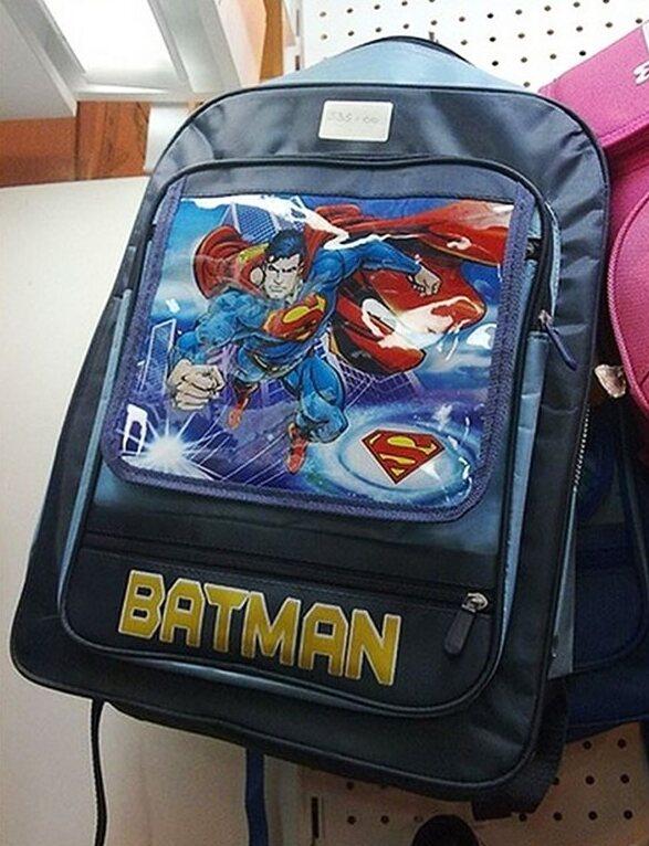 Superhero Mixup
