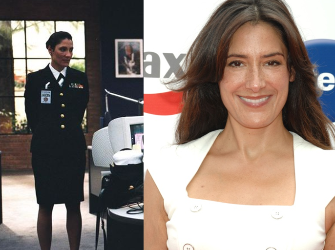Alicia Coppola As Lieutenant Commander Faith Coleman