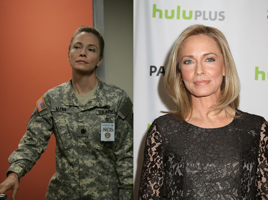 Susanna Thompson As Lt. Col. Hollis Mann
