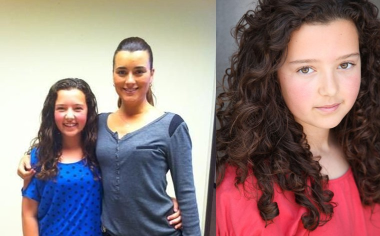 Gabi Coccio As Young Ziva David