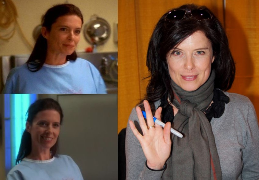 Torri Higginson As Dr. Jordan Hampton