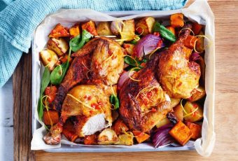 Roast Chicken And Vegetables