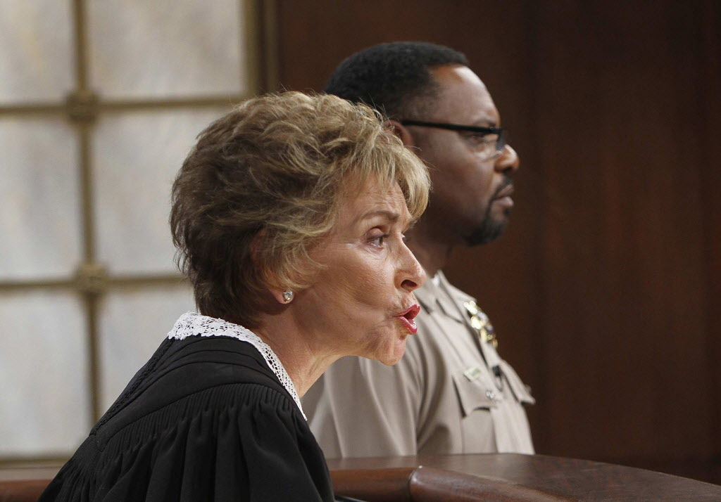 Judge Judy And Baliff Petri Hawkins Byrd