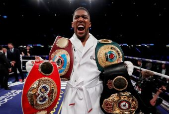 Anthony Joshua Defeats Joseph Parker On Points Wins Fourth World Title