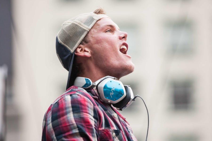 CA: DJ/PRODUCER AVICII LIVE IN UNION SQUARE PARK