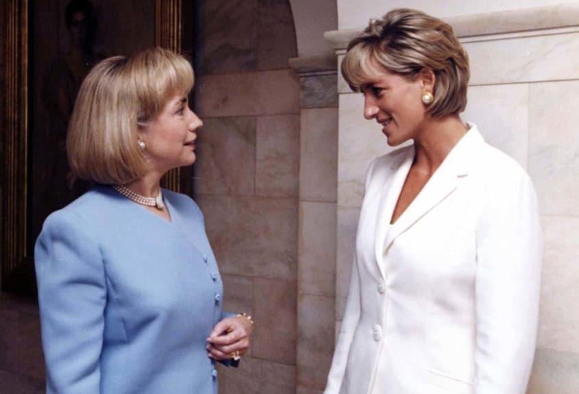 With Hilary Clinton In Washington D.C.