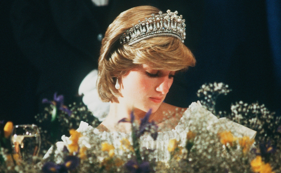 Wearing The Queen Mary Tiara