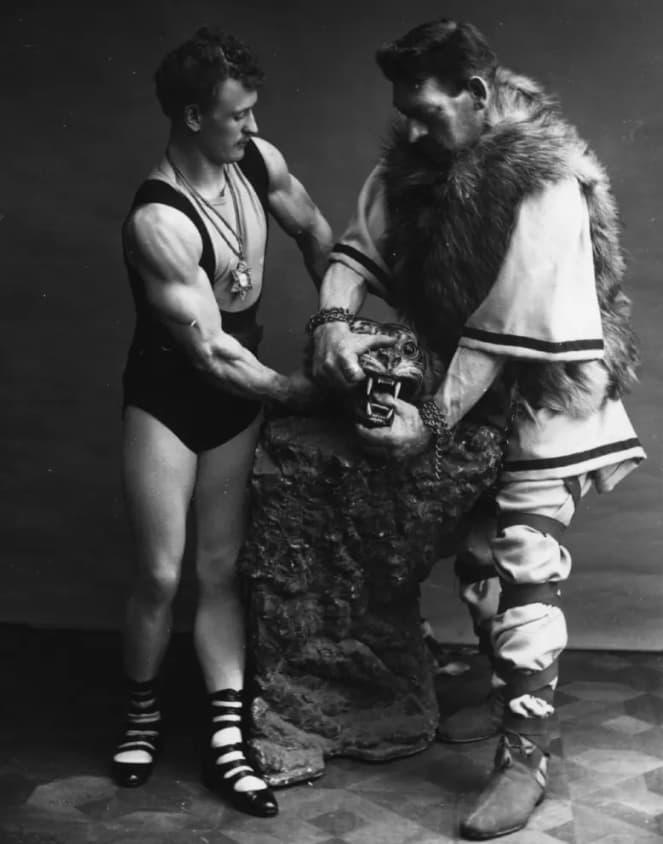 German Strongmen