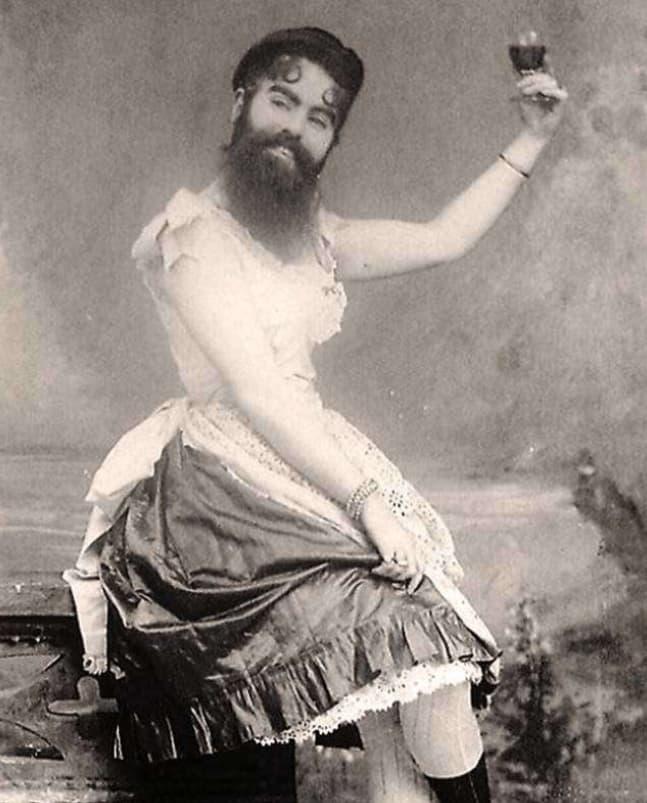 The Bearded Woman