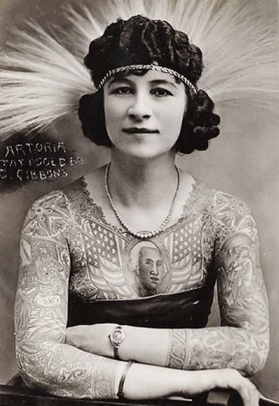 The Tattoo Lady