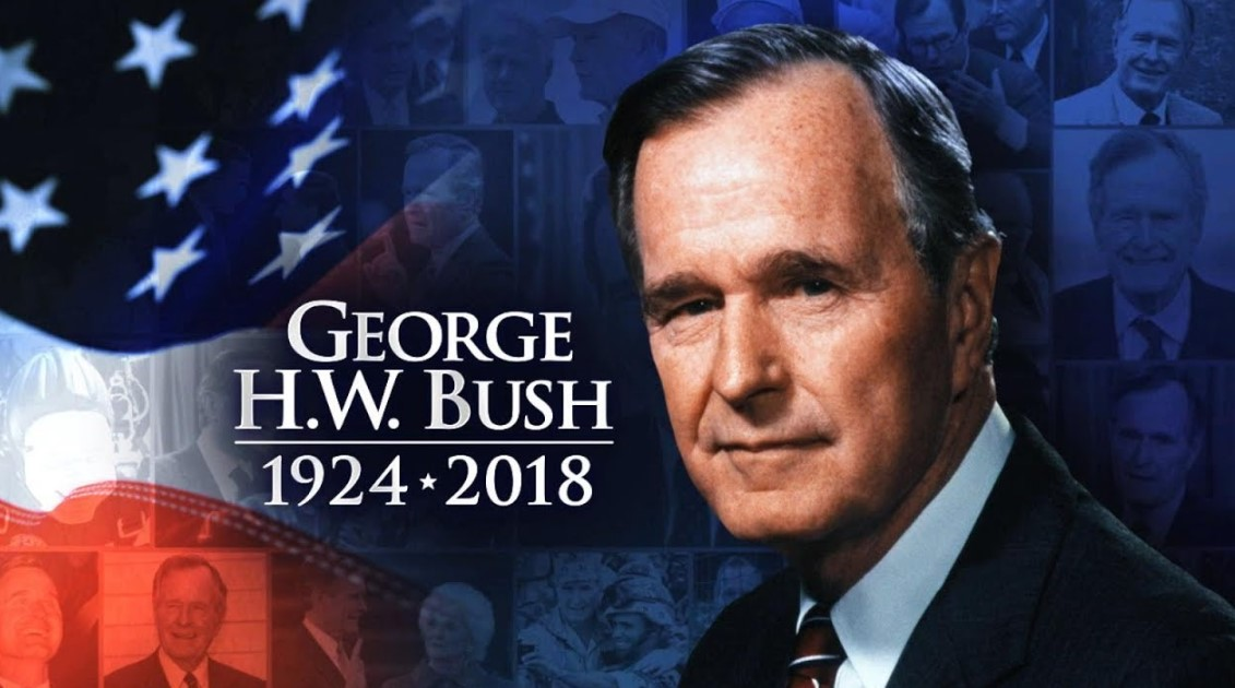 George H.W. Bush's Death
