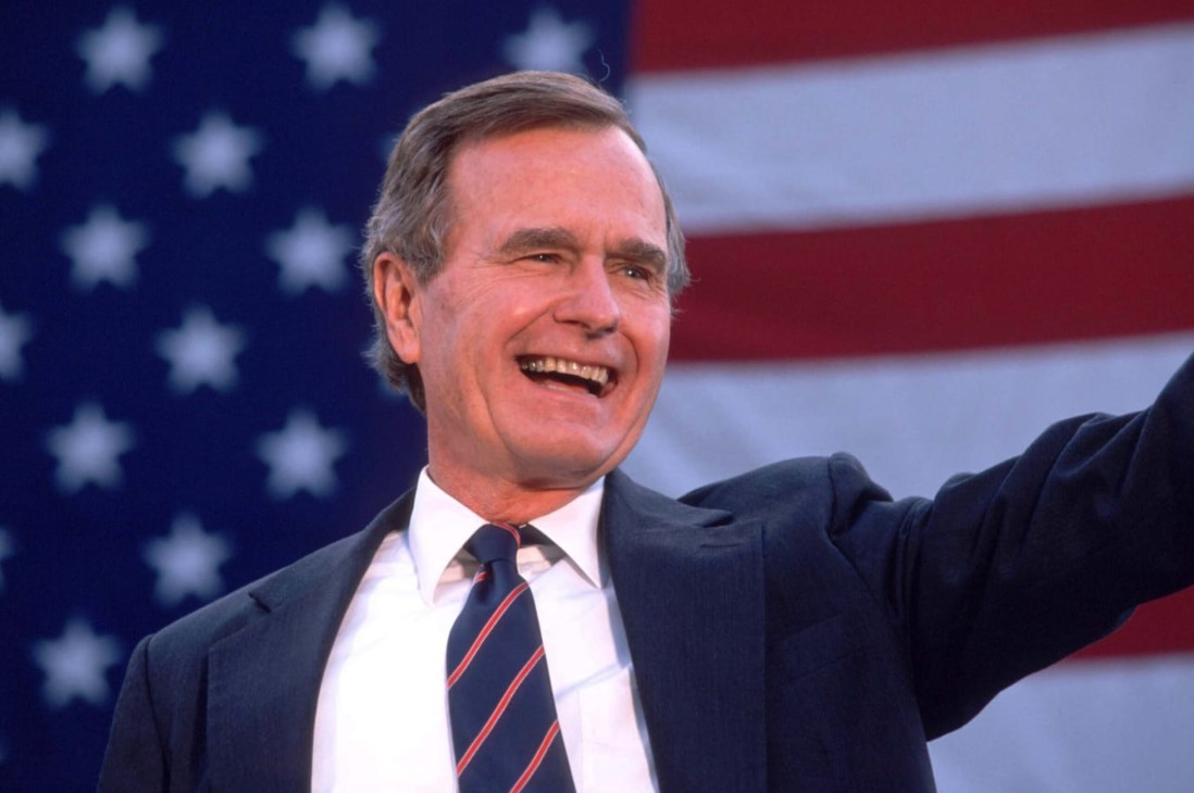 H.W. Bush's Big Accomplishments