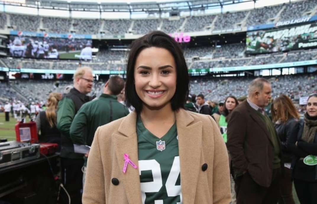 Demi Lovato New York Jets
