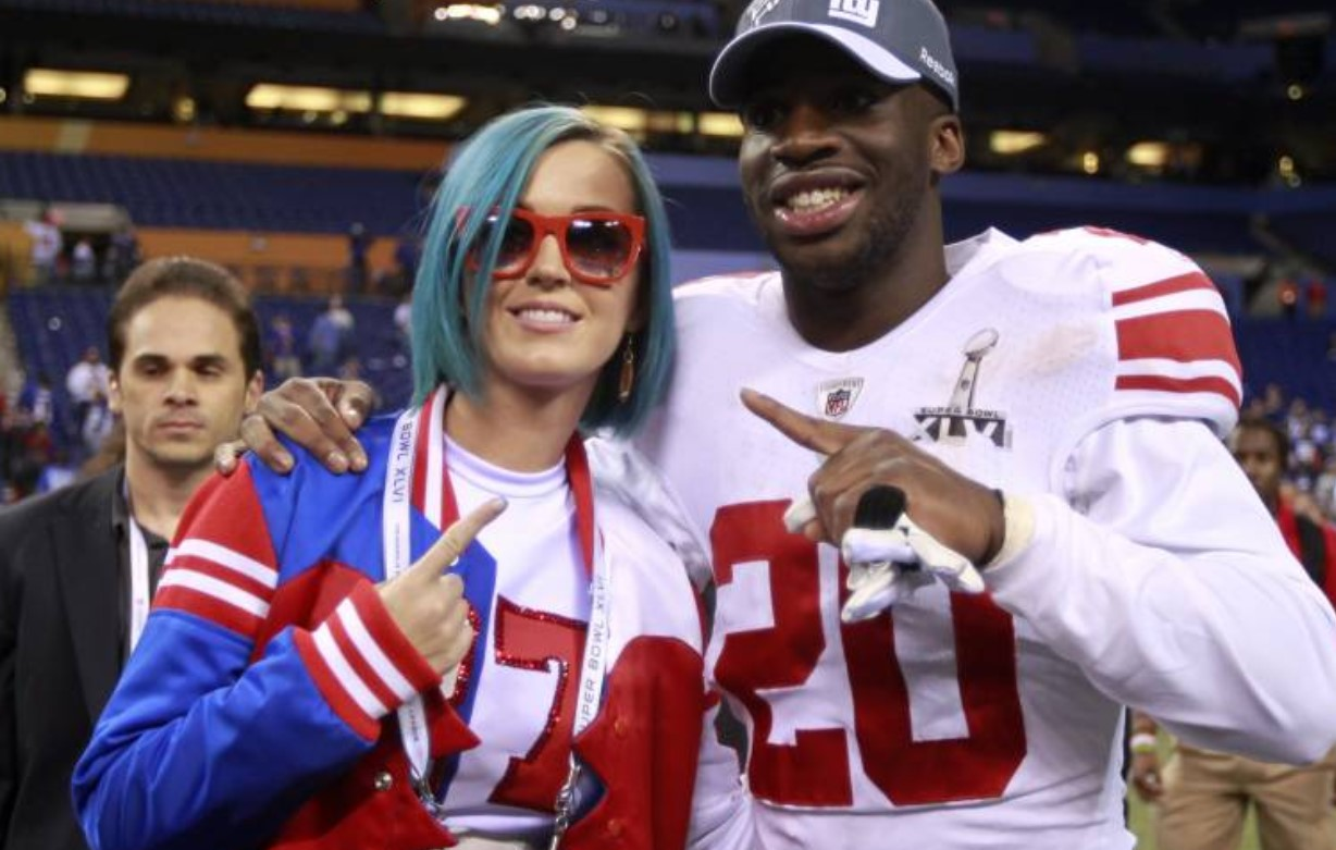 Katy Perry New York Giants