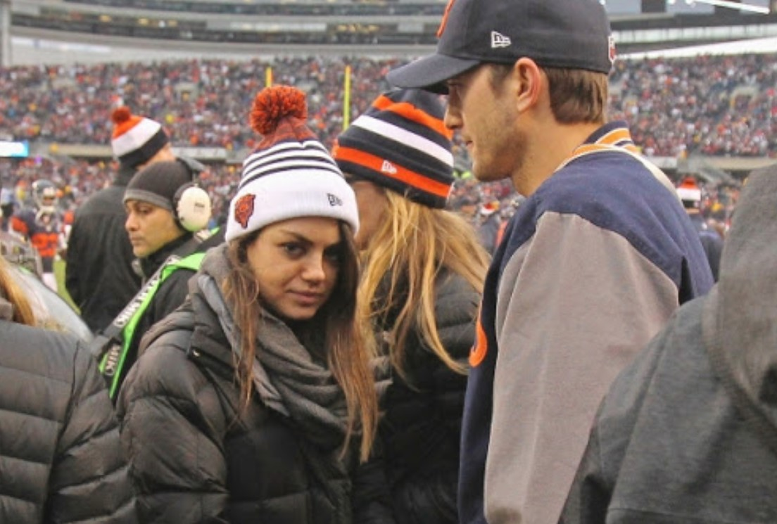 Mila Kunis Chicago Bears