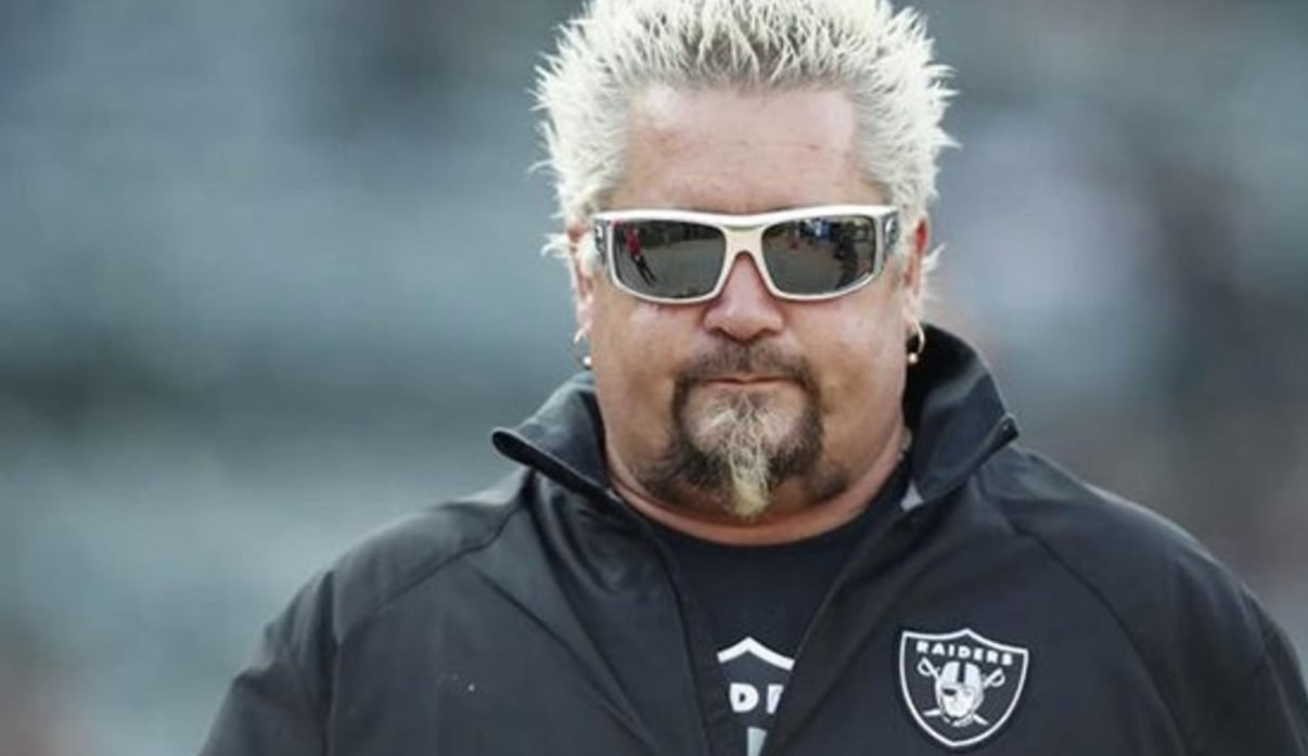 Guy Fieri Oakland Raiders