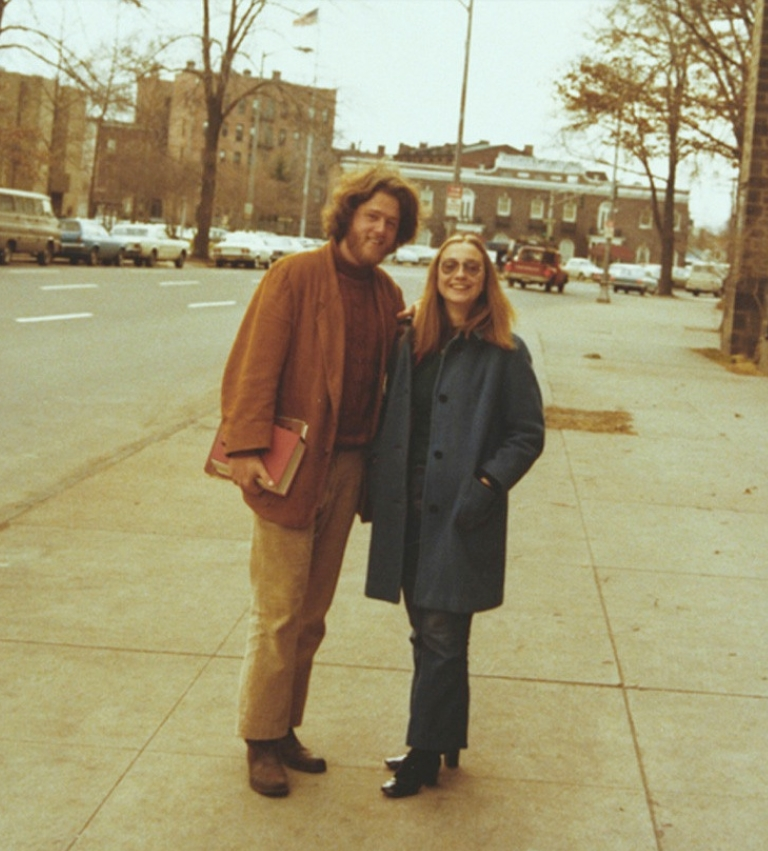 Young Bill & Hillary