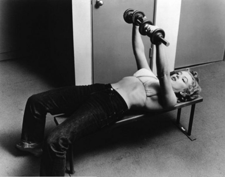 Marilyn Pumping Iron